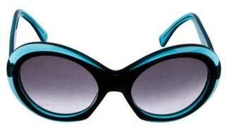 Oliver Goldsmith Round Audrey Sunglasses