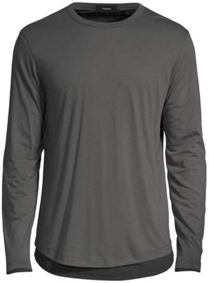 643bef70 Mens Charcoal Fitted Sleeve T Shirt - ShopStyle UK
