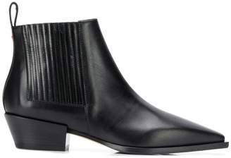 Aeyde pointed toe ankle boots