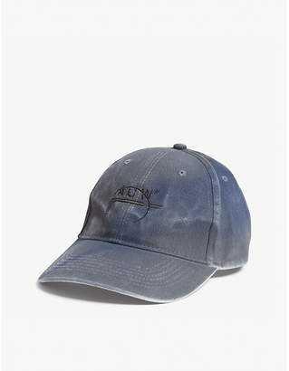 A-Cold-Wall* Stained cotton strapback cap