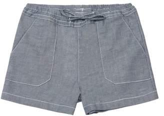 Little Karl Marc John Sale - Large Pockets Chambray Shorts