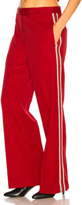 Adaptation Tailored Trouser Pant in Red | FWRD
