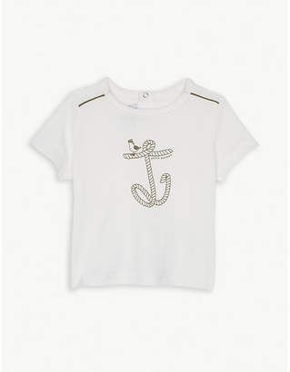 Petit Bateau Rope anchor cotton T-shirt 3-36 months