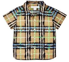 Burberry Boys' Scribble Check Shirt - Baby