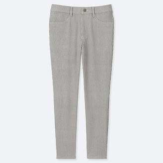 Uniqlo Women's Ultra Stretch Print Cropped Leggings Pants