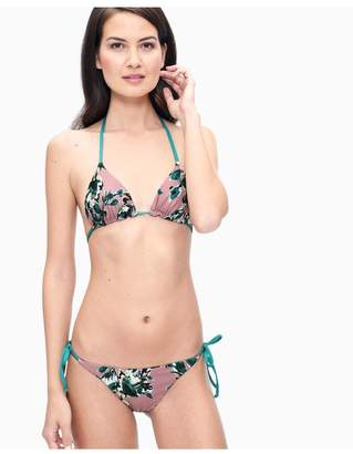 Splendid Watercolor Floral Side Tie Bikini Bottom