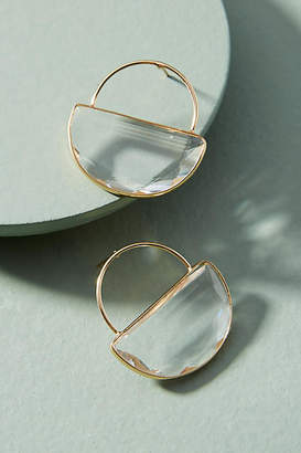 Anthropologie Cadence Hooped Post Earrings