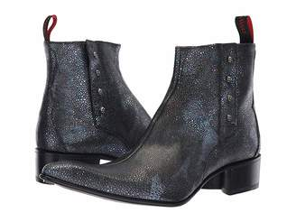 Jeffery West Rochester Terence Skulls Zip Boot