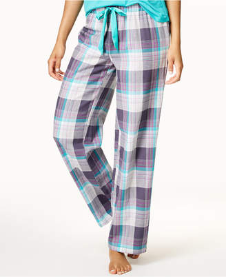 Jenni by Jennifer Moore Printed Cotton Pajama Pants