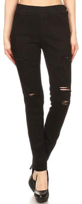 Color 5 Black Denim Jeans