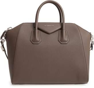 Givenchy  Medium Antigona  Sugar Leather Satchel 44f665a7ffd94