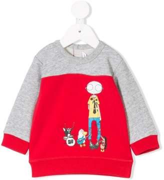 Little Marc Jacobs band print sweatshirt 46813db1c