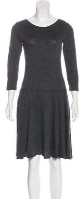 Raquel Allegra Casual Knee-Length Dress