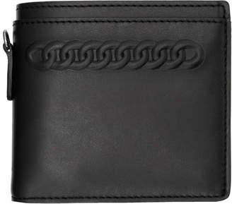 Stella McCartney Black Falabella Bifold Wallet