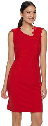 Apt. 9 Women's Lace Applique Sheath Dress