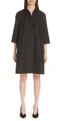 Akris Punto Eyelet Detail Cotton Dress