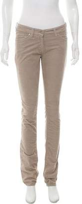 Etoile Isabel Marant Corduroy Low-Rise Pants
