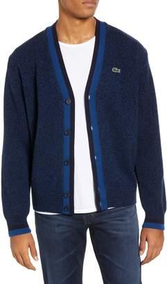 Lacoste Wool Cardigan