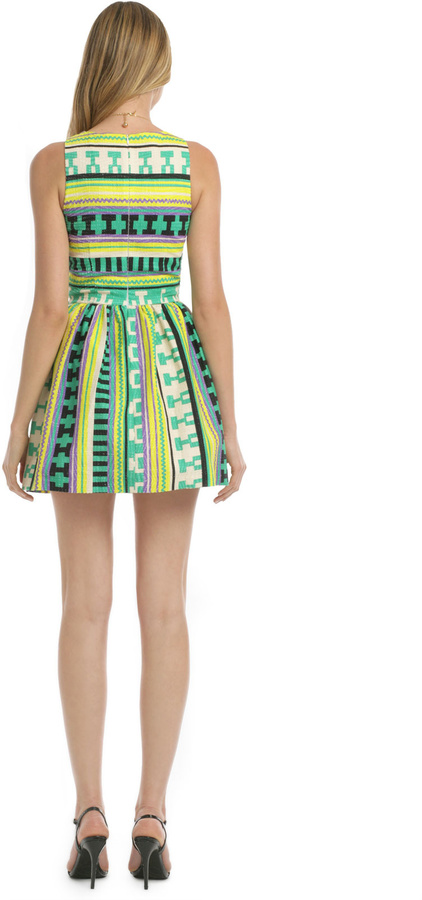 MSGM Ikat Wait to Dance Dress