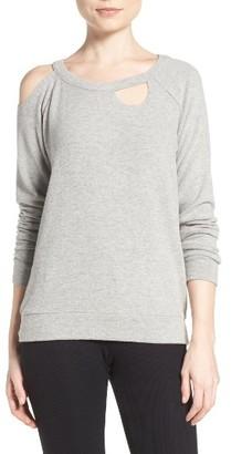 Women's Chaser Deconstructed Sweatshirt $80 thestylecure.com