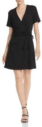 Joie Goldwin Short-Sleeve Wrap Dress