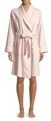 Lord & Taylor Cotton-Blend Waffle Robe