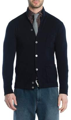 Eleventy Merino Wool Cardigan