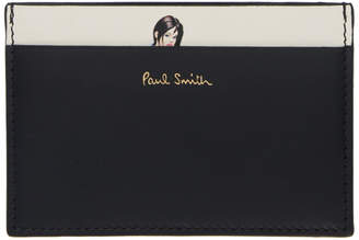 Paul Smith Black Naked Lady Card Holder