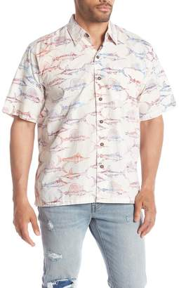 Pete Huntington Short Sleeve Woven Campshirt