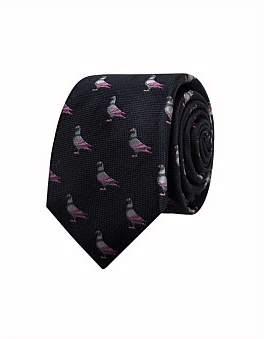 Simon Carter Pigeon Silk Tie