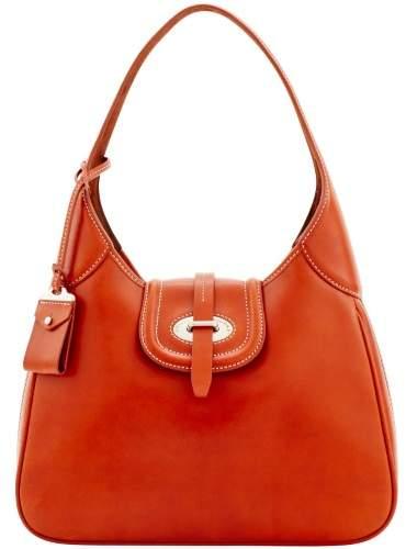Dooney & Bourke Florentine Toscana Large Hobo Shoulder Bag - GINGER - STYLE