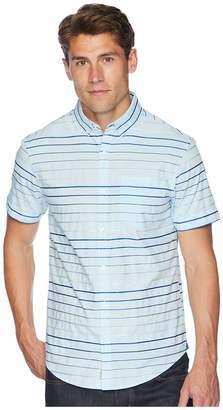 Original Penguin Short Sleeve Satin Stripe Men's T Shirt