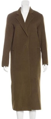 Sandro Wool Long Coat $245 thestylecure.com