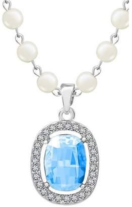 Crystal Pearl CherryGoddy European And American Fashion High-grade Shu Xiao Necklace Pendant(C2)