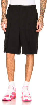 Comme des Garcons Tropical Wool Shorts