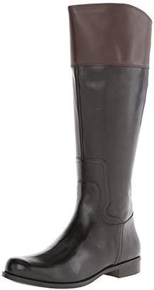 Nine West Women's Cromie Wide Calf Riding Boot