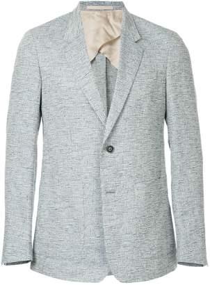 Cerruti lightweight micro-print blazer
