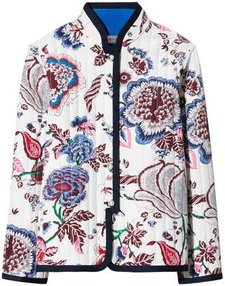Tory Burch HAPPY TIMES QUILTED REVERSIBLE JACKET