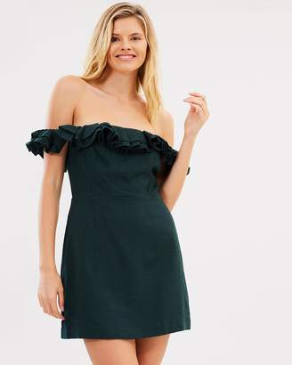 Lulu and Rose Inez Off-Shoulder Dress
