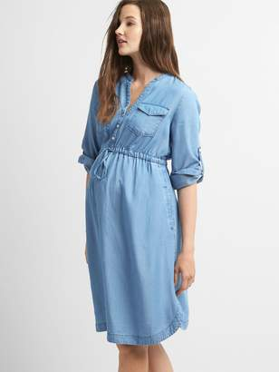 Gap Maternity TENCEL Shirtdress