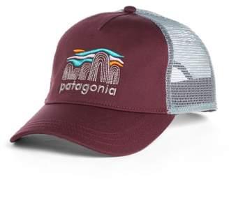Patagonia Fitz Roy Boulders Layback Trucker Hat