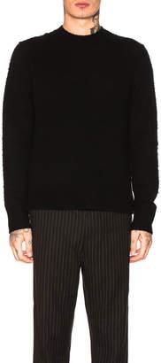 Acne Studios Peele Knit Pullover in Black   FWRD