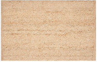 One Kings Lane Zelie Dhurrie Jute Rug - Natural