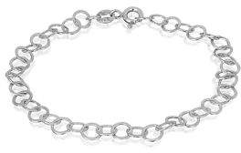 Lord & Taylor Sterling Silver Chain Bracelet