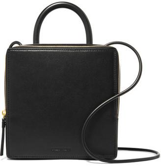 Box Leather Shoulder Bag - Black