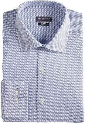 Van Heusen Men's Slim-Fit Flex Spread-Collar Dress Shirt