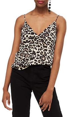 Topshop Leopard Print Camisole Top