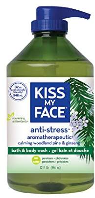 Kiss My Face Anti-stress Bath and Shower Gel