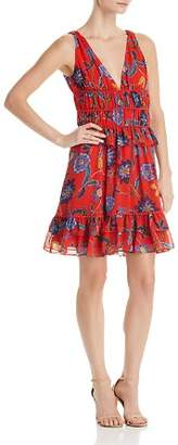 Rebecca Minkoff Lucille Flounced Floral-Print Dress