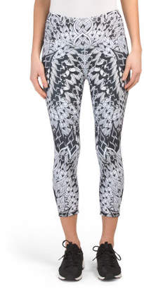 Reversible Printed Madrid Capris